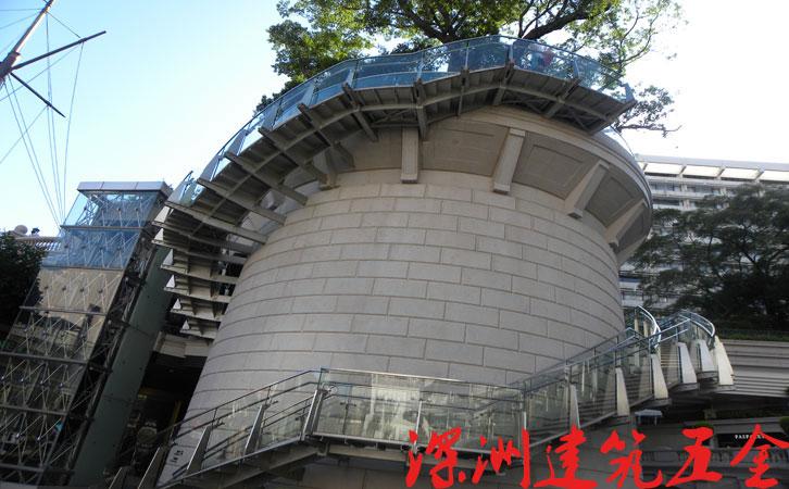 香港海港城不锈钢工程立柱案例