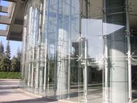飞亚达大厦304不锈钢工程立柱案例