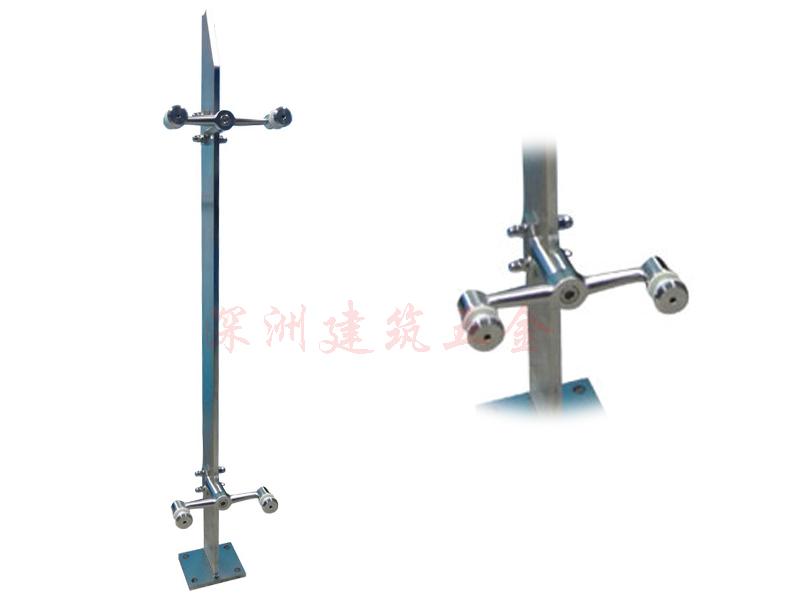 拉丝不锈钢楼梯立柱(I-LZ523)